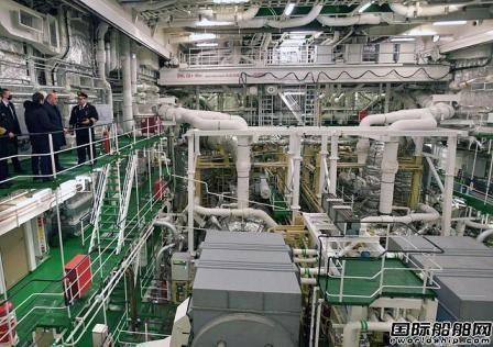 """全球最大核动力破冰船""""北极""""号正式交付"""