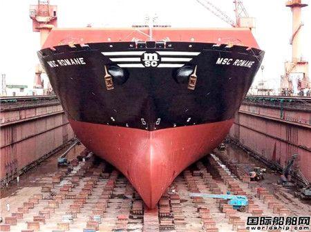 刷新纪录!上海中远海运重工完成地中海罗曼尼轮脱硫系统改装