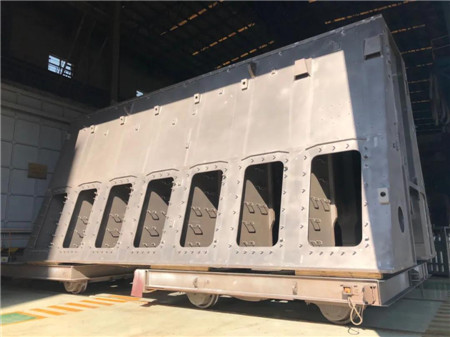 中国船柴制造世界首台双燃料机7X82DF-LPSCR机架通过鉴定