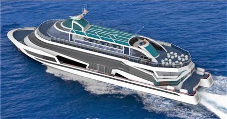 武汉理工船舶签订一艘338客位豪华游船设计合同