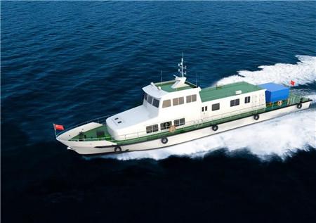 武汉理工船舶签订一艘30米级运鱼放流船设计合同