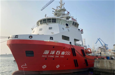 七一一所自主研制燃气阀组单元完成实船海试
