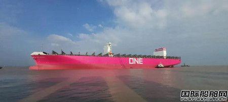 文冲修造顺利交付K-LINE脱硫改装系列首艘船