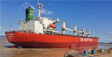 舟山中远海运重工五船齐开航十月完美收官