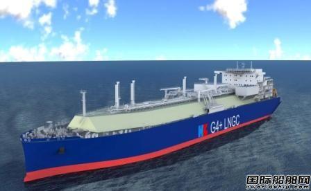 沪东中华中石油国事项目首艘17.4万方LNG船开工
