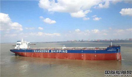 外高桥造船又交付一艘18万吨绿色环保型散货船