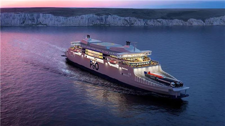 瓦锡兰为英国两艘新型超级渡轮提供动力