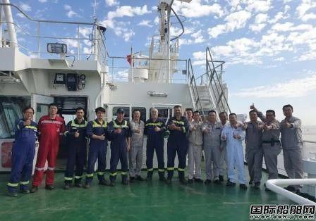沪东中华两艘23000TEU集装箱船完成重要节点