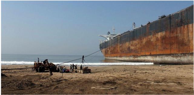 银行考虑对负责任报废船只的船东提供融资