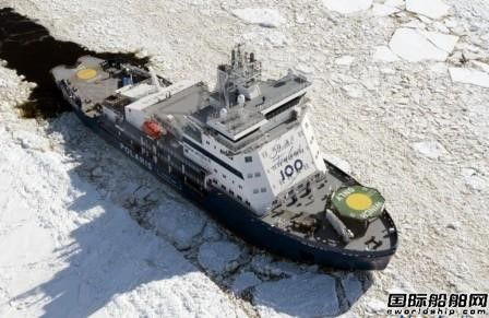 Aker Arctic获得波罗的海新型破冰船设计合同