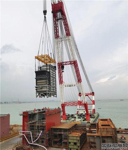 文冲修造承修KLINE第二艘脱硫改装船按期完工交付