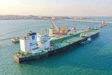 青岛港北方船供油基地建设再上新台阶