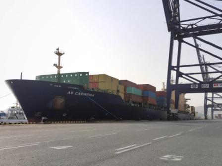 地中海航运大连港开通首条近洋航线