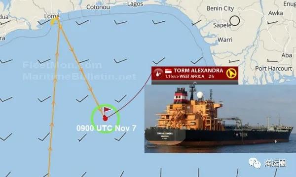 又一艘成品油轮在几内亚湾被海盗登船