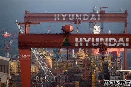 甩开中国?韩国造船业接单量连续四月稳居第一
