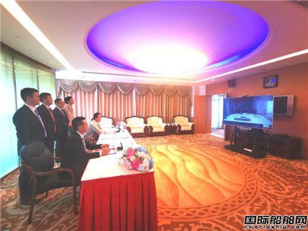 外高桥造船与裕民航运签署4艘19万吨双燃料散货船建造合同