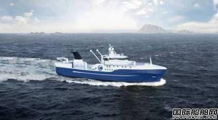 Vard再获Luntos尾拖网渔船设计与建造合同