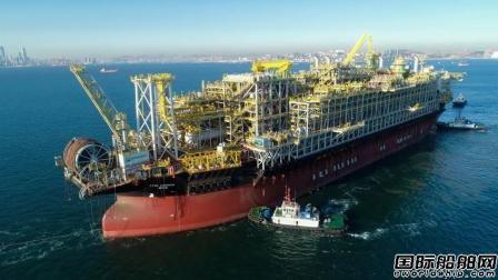 大连中远海运重工交付今年全球首艘改装FPSO