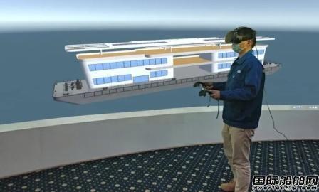 武船成功应用交互式仿真技术建造船舶