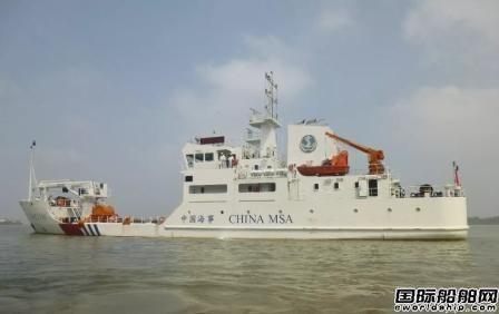新一代中型航标船首制船完成竣工验收正式定型