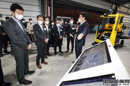 现代重工集团展示与IT业合作研发成果