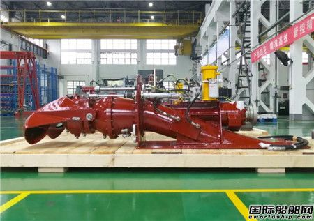 武汉船机自主研制9台系列喷水推进装置全部完工出厂