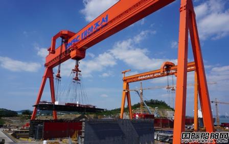 大韩造船接获欧洲船东2艘阿芙拉型油船订单