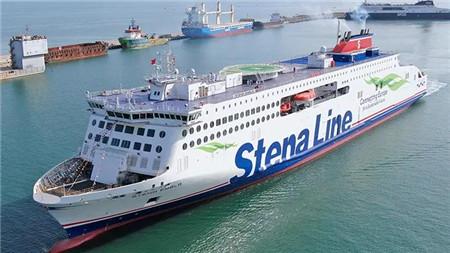 """威海金陵交付Stena第4艘高端客滚船""""Stena Embla""""号"""