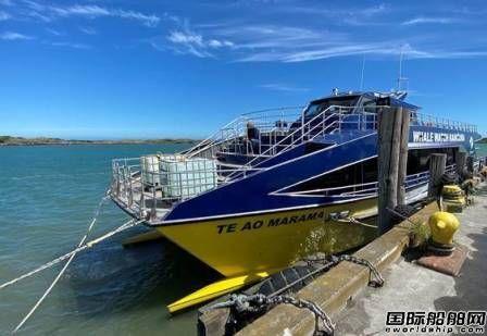 HamiltonJet为新西兰观鲸船配套喷水推进器