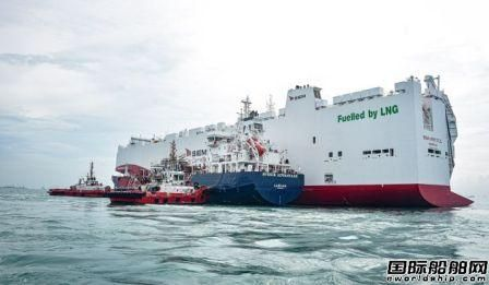 Petronas正式启动LNG加注业务完成首次LNG加注作业