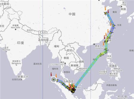 """一艘从中国出发的油轮全船失电后""""随波逐流"""""""
