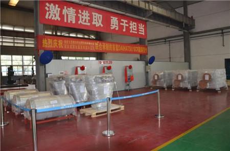 安柴首套SCR成功交付日本大发柴油机
