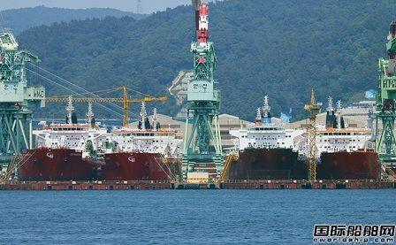 现代尾浦造船获新加坡船东两艘双燃料LPG船订单