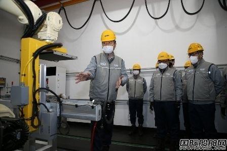 大宇造船推出全球造船业首个AI焊接质量监控机器人