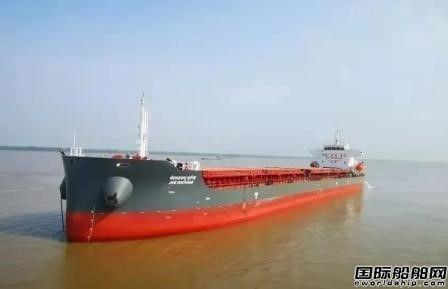 芜湖造船厂2艘8000吨系列货船完成重要节点