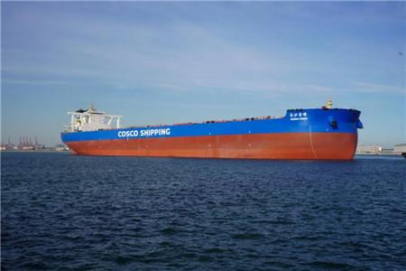 港船重工一艘32 5万吨矿砂船完成试航首秀凯旋