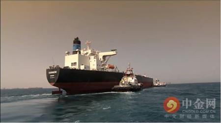 20艘运载美国石油的超级油轮正加快驶向亚洲