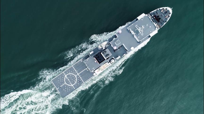 新型医疗船南医13船归建入列将驻泊南沙岛礁