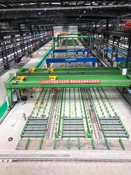 中国首条大型薄板平面流水线分段线完工交付