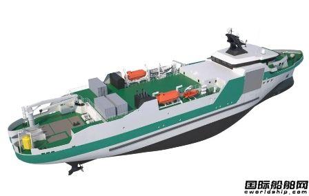 Piriou推出新型电缆敷设船设计
