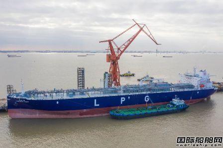 全球第一!江南造船年内交付8艘VLGC