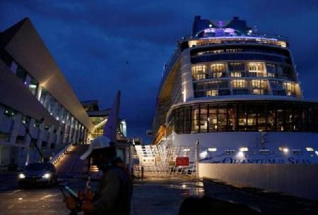"""虚惊一场!新加坡复航邮轮""""海洋量子""""号乘客被证实未感染"""