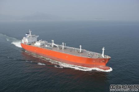 大宇造船获1艘91000方双燃料VLGC订单