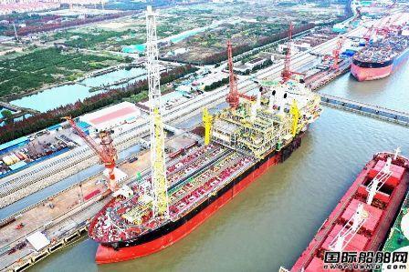 上海中远海运重工成功交付FPSO MV34项目