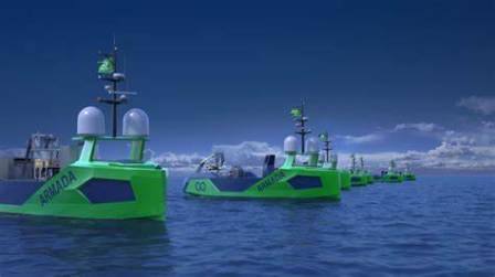 Sonardyne传感器获Armada无人船队订单