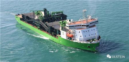 ULSTEIN设计美国首艘符合琼斯法案海上风场抛石船