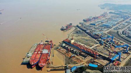 舟山中远海运重工一个月完成青岛良禾三艘船修理改装