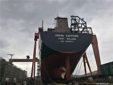 东南造船8天完成6艘新船7个大节点