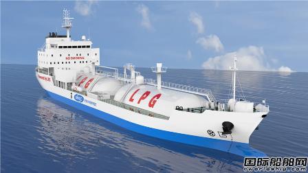 KRISO小型双燃料LPG船获韩国船级社AIP认证