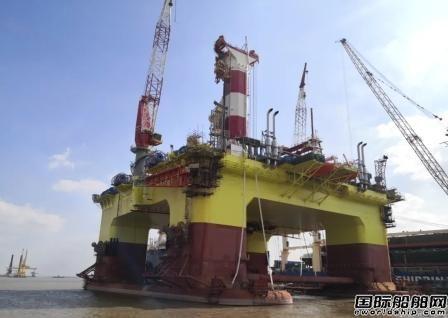 招商工业交付中国首艘中深水半潜式钻井平台